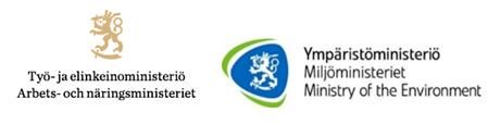 TEM:n ja YM:n logot