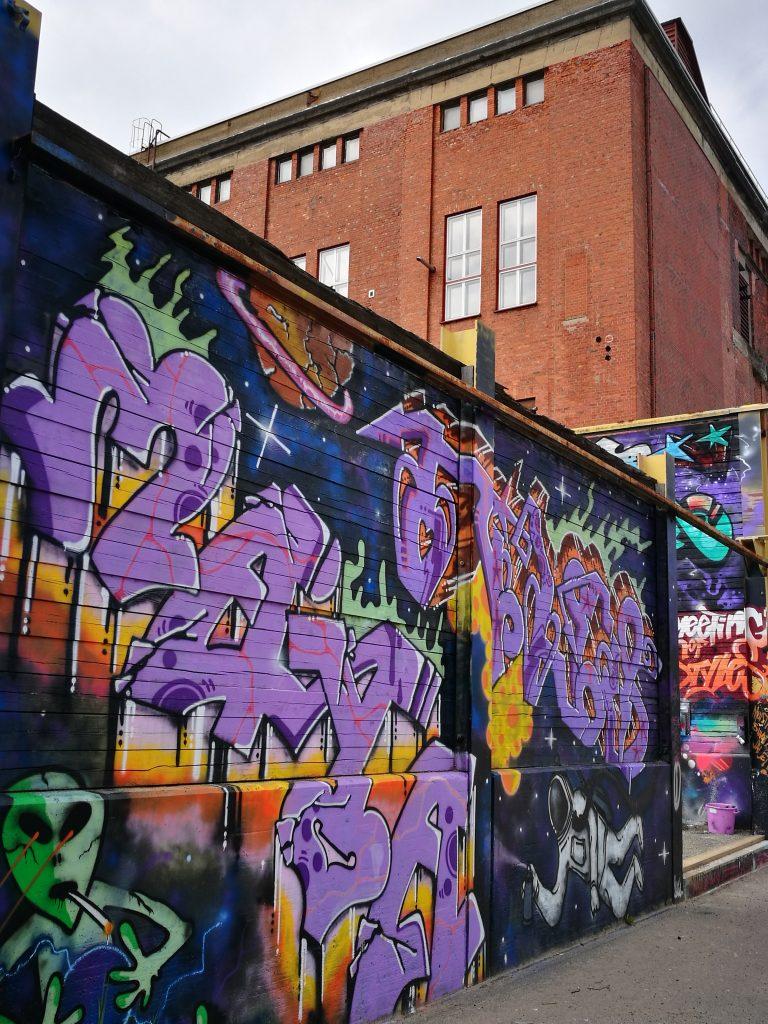 grafittiseinä